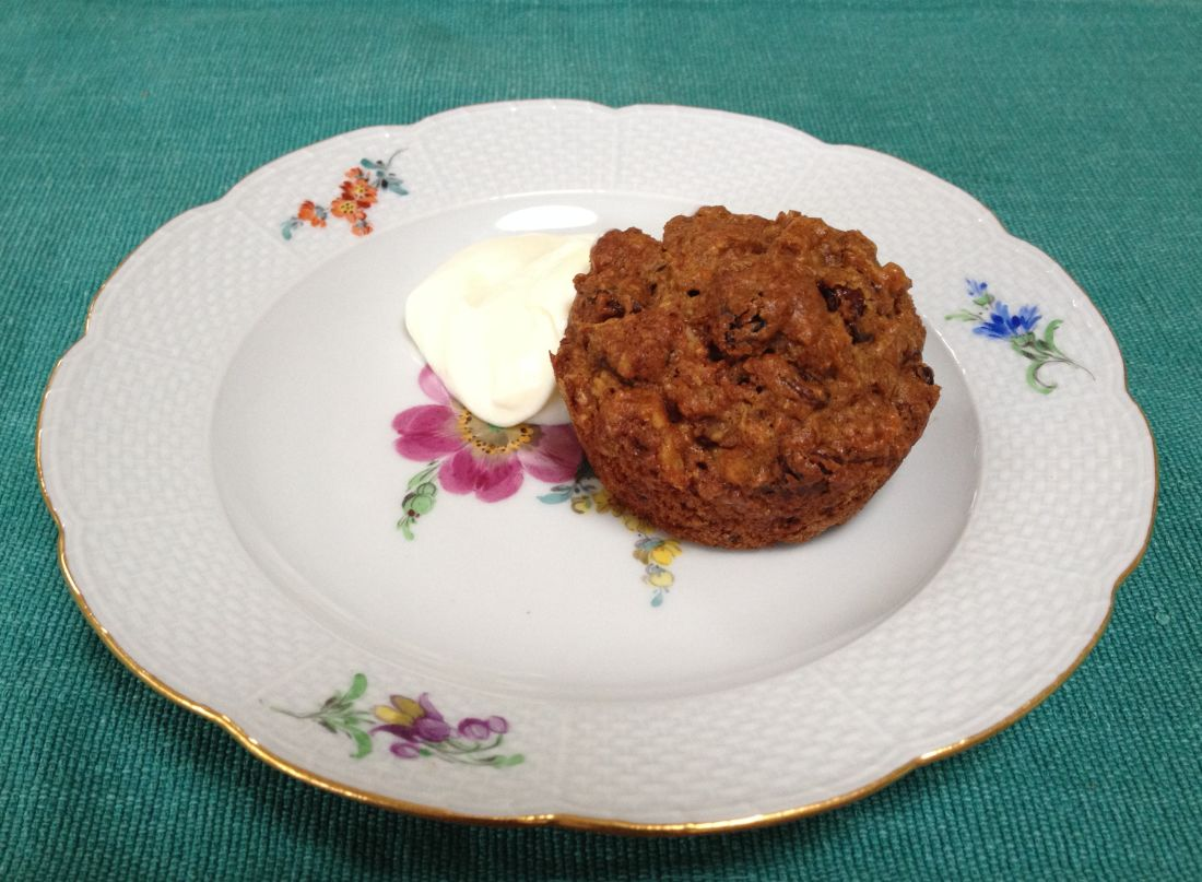 how to make carrot muffins at home