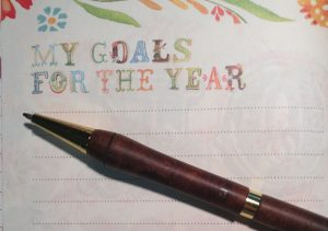 Choosing my goals for the year