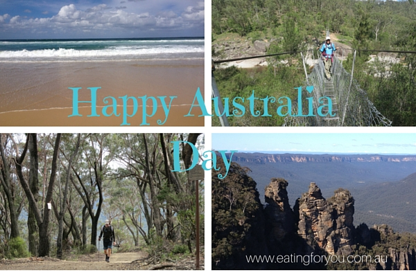 Celebrate Australia day outdoors on the beach, in the mountains, along a river or trekking through nature