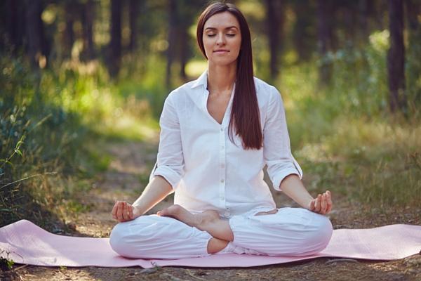 Balance Ayurveda doshas with meditation