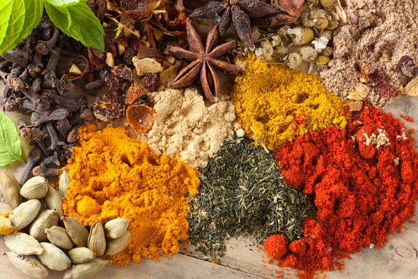 Eastern nutrition uses herbs and spices to balance meals