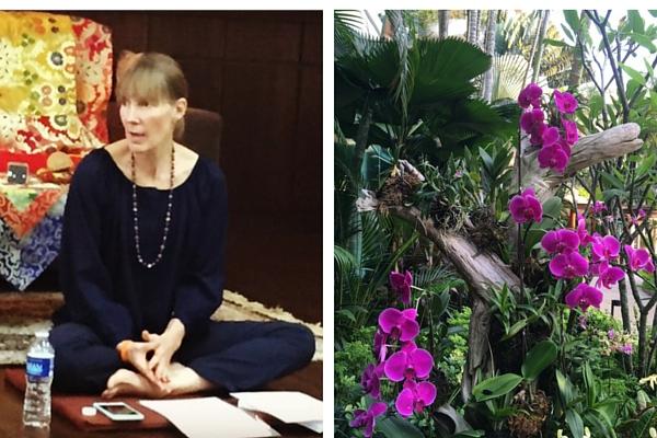 Sallyanne Pisk speaking at Singapore Mindfulness Talk