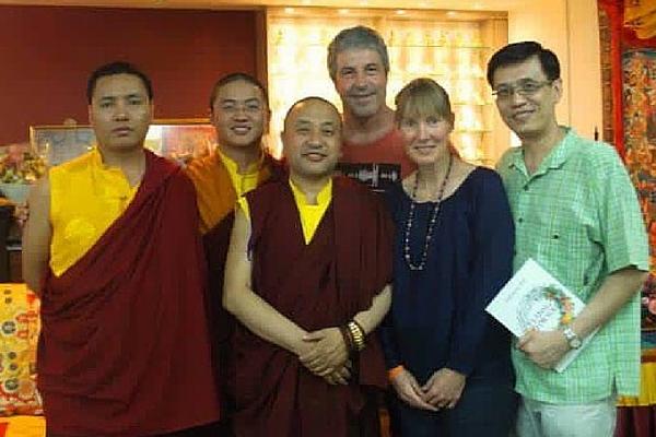Singapore Mindfulness Talk - Nuptul Rinpoche, Tulku Jigme Rinpoche, Karma Rinpoche, Dennis Pisk, Sallyanne Pisk, Lee Kwang Boon