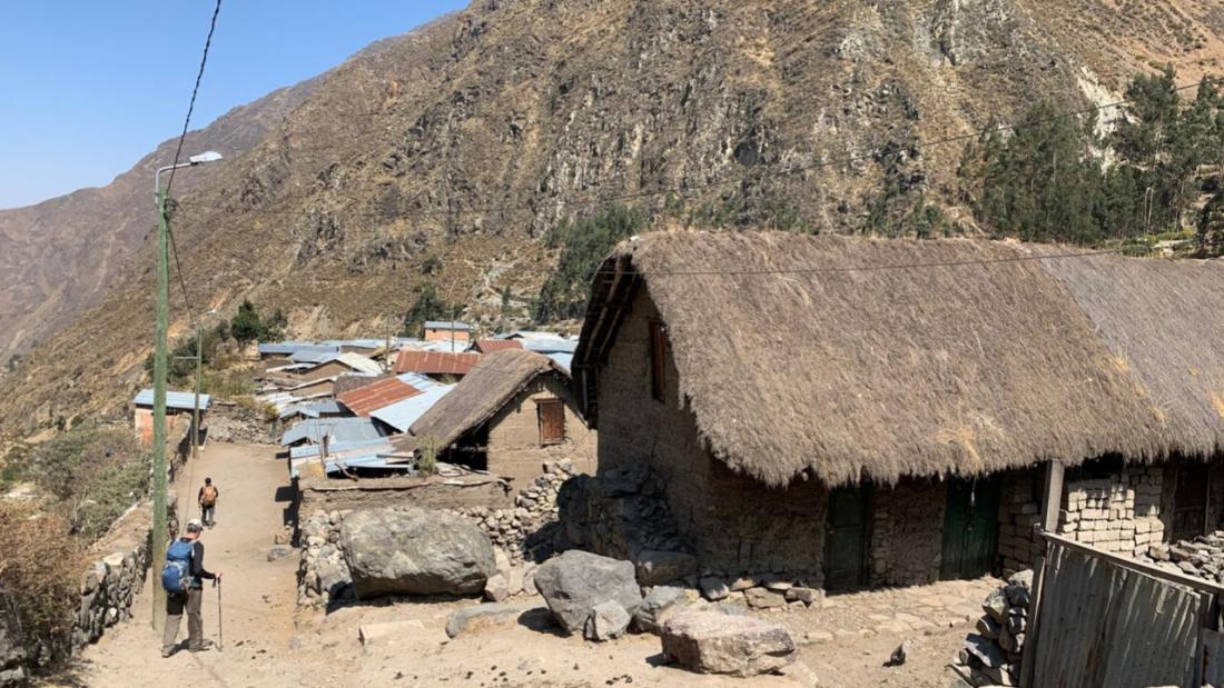 Village of Huayllapa Huayhuash Trek