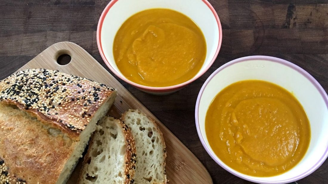 Seasonal food, such as pumpkin soup, allows us to nourish ourselves by living with the seasons