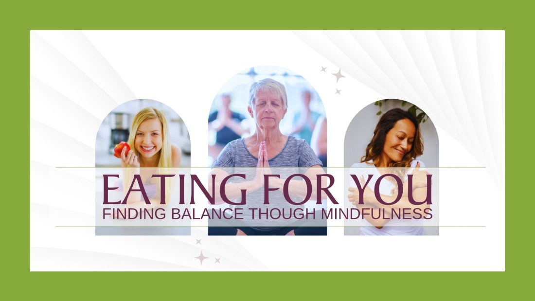 Invitation to join Eating for You Community